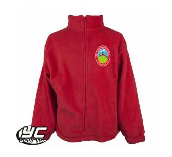 Pen-Y-Bryn Primary School Fleece RED