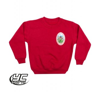 Pen-Y-Bryn Primary School Sweatshirt RED