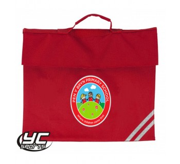 Pen-Y-Bryn Primary School Bookbag RED O/S