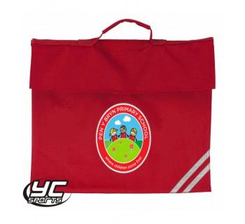 Pen-Y-Bryn Primary School Bookbag RED O/S