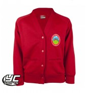 Pen-Y-Bryn Primary School Cardigan RED