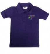 Pontprennau Primary School Purple Polo