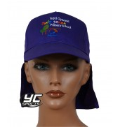 Pontprennau Primary School Legionnaires hat Purple