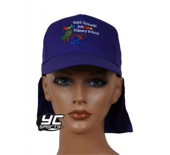 Pontprennau Primary School Legionnaires hat Purple
