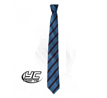 Radyr Comprehensive Lower School Tie Sky/Maroon