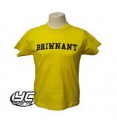 Rhiwbeina PE T Shirt Yellow YELLOW
