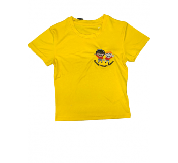 Rumney Primary PE T shirt YELLOW