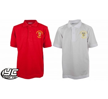 St Monica's Primary School Polo Adult Size