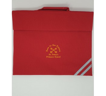 St Peters Primary Bookbag - RED