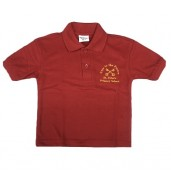 St Peters Primary Polo - RED