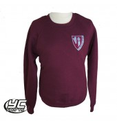 St. Phillip Evans RC Primary School Sweatshirt BURGUNDY