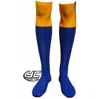 St. Teilo's CIW High School Sock ROYAL/AMBER Mens