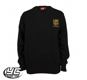 Stanwell Boys Jumper Black