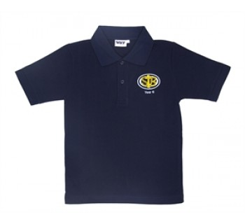 St Bernadette's Primary School Navy Polo for year 6 only