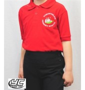 Tongwynlais Primary School Red Polo