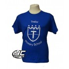 Trelai Primary School PE T-shirt (choose your colour)