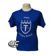 Trelai Primary School PE T-shirt (choose your colour)
