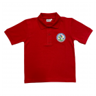 Coety Primary School Polo - Red