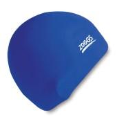Zoggs Junior Silicone Swim Cap (Blue)