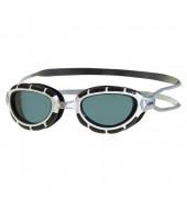 Zoggs Predator Junior Swimming Goggles (Black/White/Black)