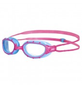 Zoggs Predator Junior Swimming Goggles (Pink/Light Blue/Pink)