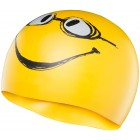 LCSMILEY HAVE A NICE DAY SWIM CAP 720 YELLOW O/S