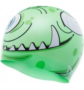 LCSMNSTR MONSTER SWIM CAP 310 GREEN O/S