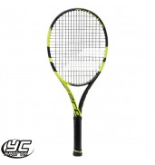 Babolat Pure Aero JR 26 Tennis Racket (Black/Yellow, 2015)