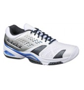 Babolat Drive 3 Kid White/Blue all court tennis shoes