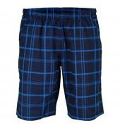 Wilson Rush Plaid 8 Boys Court Short (Midnight Navy, 2015)