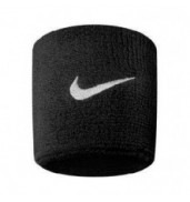 Nike Swoosh Wristband (Black/White)