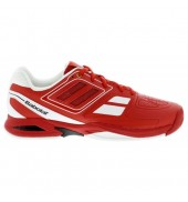 Babolat Propulse Team BPM Junior Tennis Shoes (Red, 2015)