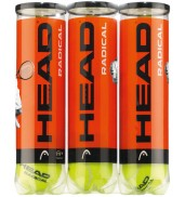 Head Radical 4x3 Ball Pack