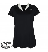 UA HeatGear Womens Armour SS T-Shirt (1269102-001 Black)