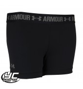 UA HeatGear Womens Armour Short (1271777-001 Black)