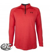 UA Tech 1/4 Zip Jacket (1242220-984 RTR/BLK)