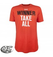UA Winner Takes All SS Tee (121751-984 RTR/BLK)