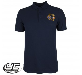 URNU Wales Navy polo shirt