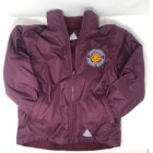Whitchurch Primary School Reversible Jacket BURGUNDY