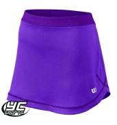 Wilson Womens Mesh 12.5 Skirt (WRA726202 Plumberry)
