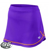Wilson Girls Mesh Skirt (WRA730002 Plumberry)