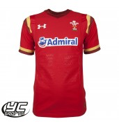 WRU Gameday Rugby Jersey 15/16 (1259454-600 Red/White)