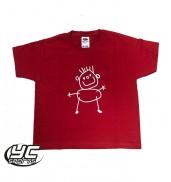 Ysgol Gymraeg Pwll Cochl Nursery PE T-Shirt RED