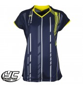 Yonex 20235 Ladies Cap Sleeve Tournament Shirt (Navy, 2015)