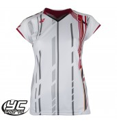 Yonex 20235 Ladies Cap Sleeve Tournament Shirt (White, 2015)