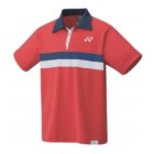Yonex Polo Shirt Mens 10390AEX RUBY RED