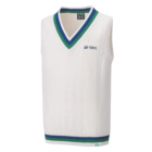 Yonex 75th Sweater Vest 30073AYX White
