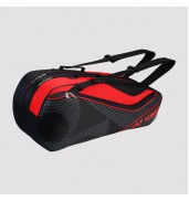 BAG 8726 Active 6 Racket BLACK/RED O/S
