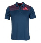 adidas Golf Big Logo Dot Print Polo AE4121