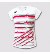 2017 Yonex Polo Shirt CAP Sleeve W 20349 WHITE